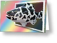 Art Fish Fun Greeting Card
