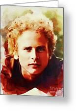 Art Garfunkel, Music Legend Greeting Card