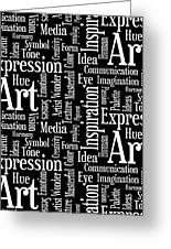 Art Idea Inspiration Greeting Card