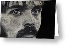 Art In The News 95-steve Prefontaine Greeting Card