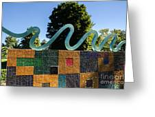 Art In The Park - Louis Armstrong Park - New Orleans Greeting Card