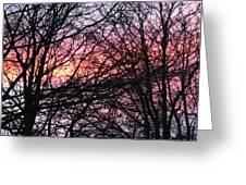 Art Inspired Nature Greeting Card
