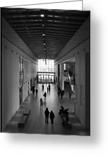 Art Institute Of Chicago Modern Wing Greeting Card