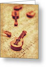 Art Of Classical Rock Greeting Card