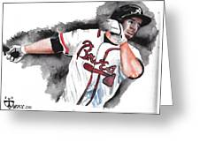 Art Of The Braves Greeting Card