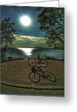Art Of The Morning Sun Greeting Card