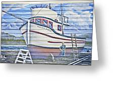 Art On The Bayfront 2 Greeting Card