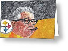 Art Rooney Greeting Card by William Bowers
