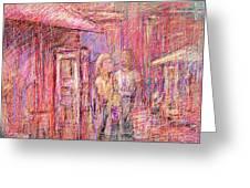 Art Show Greeting Card