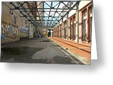 Art Space In Former Power Plant Greeting Card