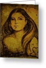 Artemis Who Greeting Card