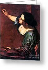 Artemisia Gentileschi Greeting Card