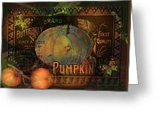 Artful Pumpkins Greeting Card