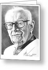 Arthur C. Clarke Greeting Card