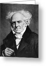 Arthur Schopenhauer Greeting Card