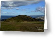 Arthur's Seat And Edinburgh Scotland Greeting Card