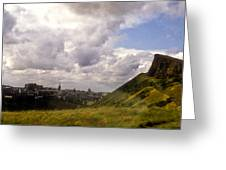 Arthurs Seat Edinburgh Greeting Card