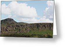 Arthurs Seat Greeting Card