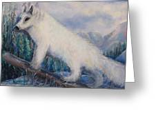 Artic Fox Greeting Card