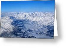 Artic Polar Circle Greeting Card