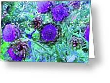Artichoke Blues Greeting Card
