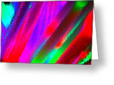 Artificial Rainbow Greeting Card