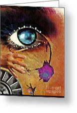 Artificial Tears Greeting Card