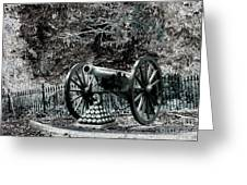 Artillery At Pickettes Charge Greeting Card