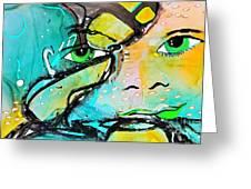 Artis Energy 2 Greeting Card