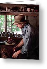 Artist - Potter - The Potter IIi Greeting Card by Mike Savad