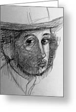 Artist Degas  Greeting Card