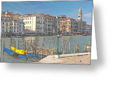 Artist Impression Of Venice Greeting Card