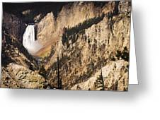 Artist Point Falls Greeting Card