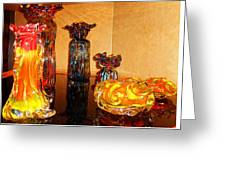 Artistic Glass 2 Greeting Card