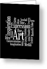 Artistic Inspiration Greeting Card