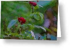 Artistic Last Rose Greeting Card