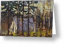 Artist's Camp, Canoe Lake, Algonquin Park Greeting Card