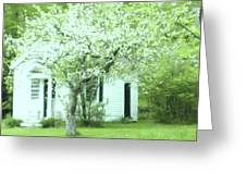 Artist's Cottage Greeting Card