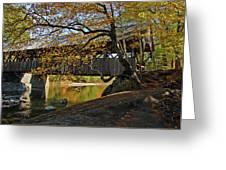 Artist's Covered Bridge Greeting Card