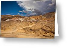 Artists Drive, Death Valley Greeting Card