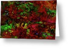 Artists Foliage Greeting Card