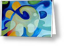 Artists Palette Greeting Card