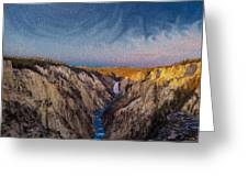 Artist's Point Sunrise Greeting Card