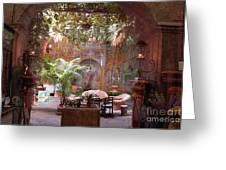 Artists' Studio In Sorrento Italy  Greeting Card