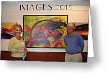 Arts Fest. 2015 - Images Show Greeting Card