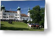 Artstetten Castle In June Greeting Card