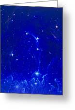 Artwork Of The Constellation Delphinus Greeting Card