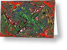 Artwork Ovoid Greeting Card