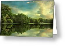 Summer Reflections Greeting Card