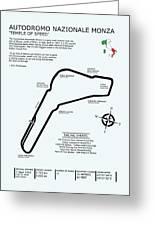 Autodromo Nazionale Monza Greeting Card